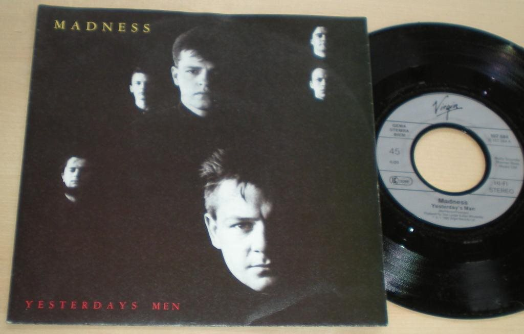 Madness 45/PS Yesterdays men 1985 M-