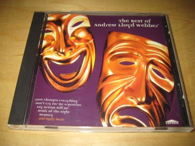 ANDREW LLOYD WEBBER - THE BEST OF ANDREW LLOYD WEBBER.