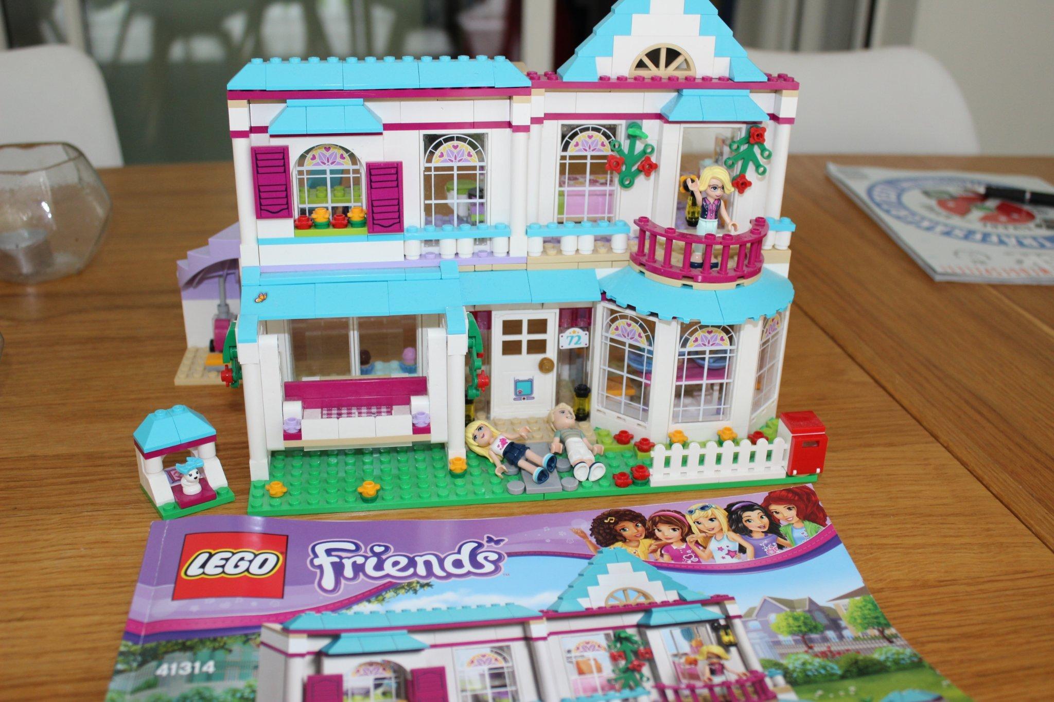 Folkekære Lego Friends Stephanies Hus 41314 (360791013) ᐈ Köp på Tradera II-05