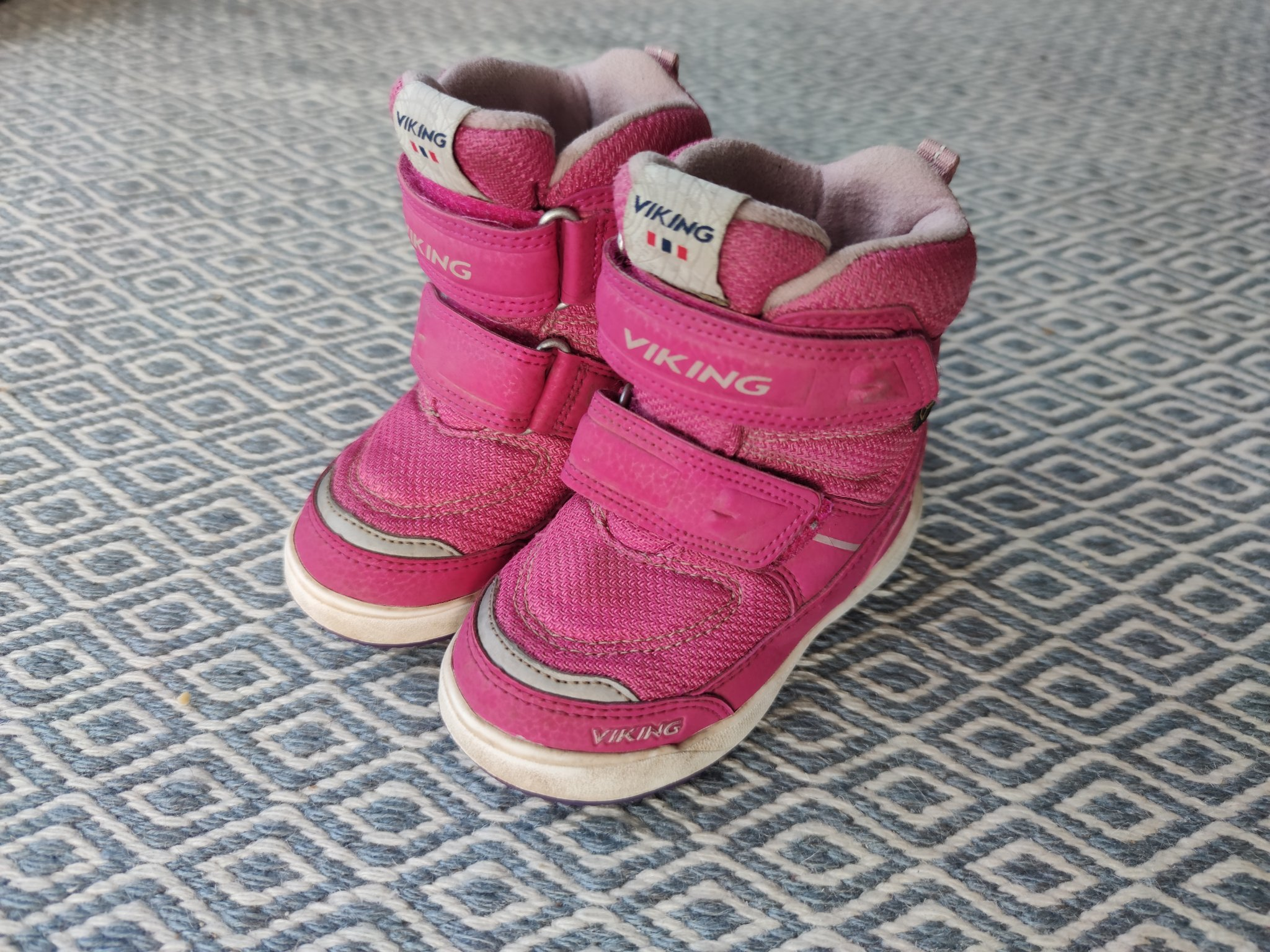 Viking skor söta storlek 23 rosa vikingskor känga vinterskor goretex
