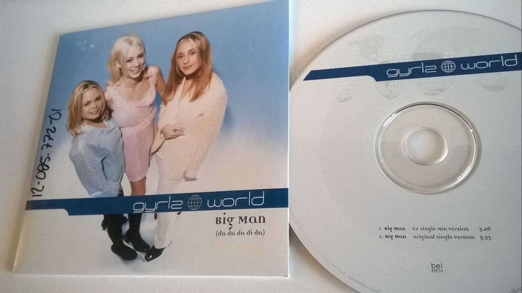 Gyrlz World ?- Big Man (Da Da Da Di Da), single CD