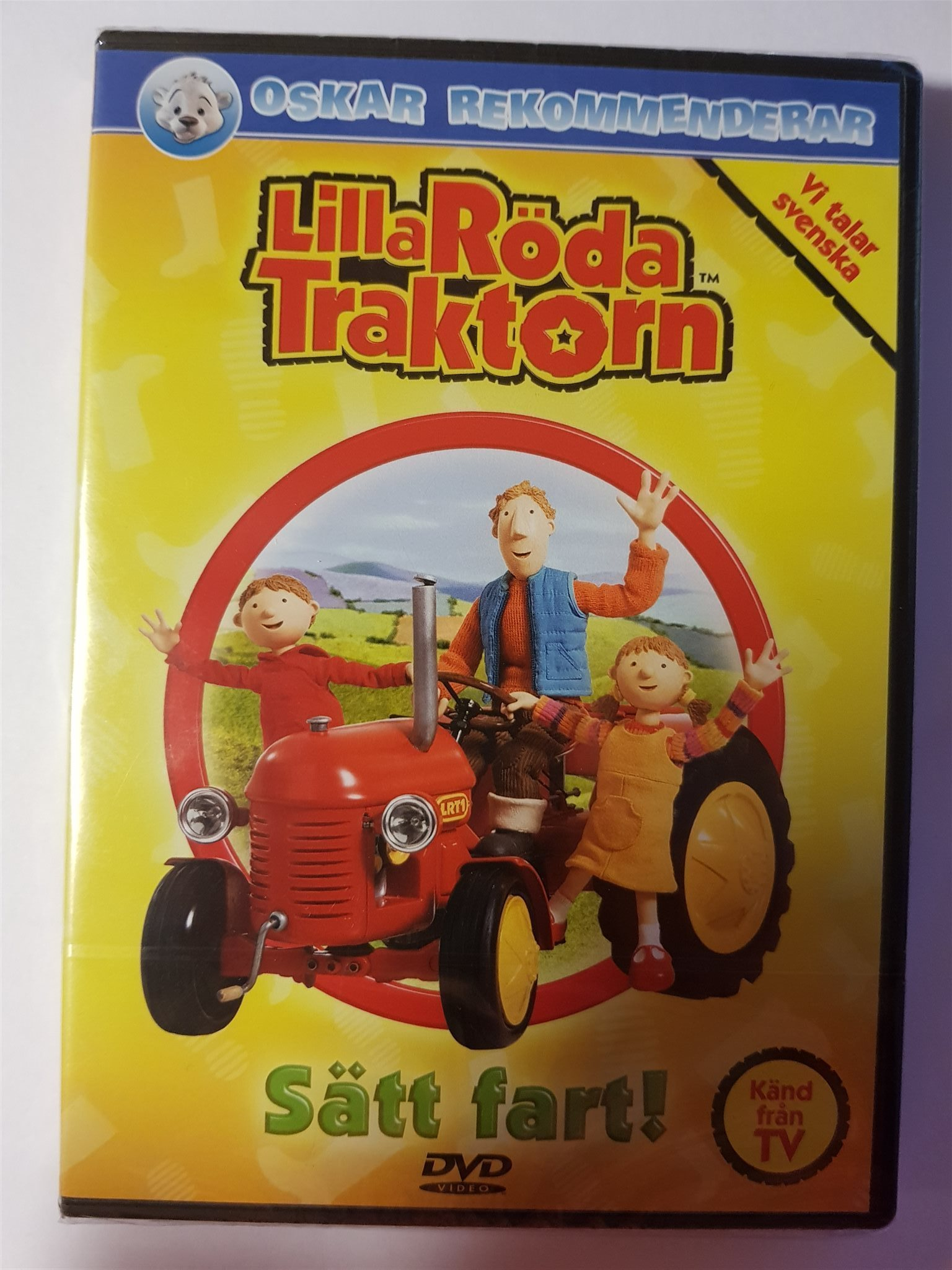 lilla röda traktorn leksaker