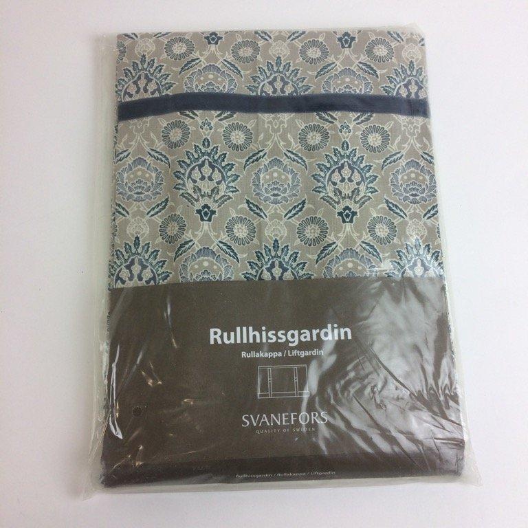 e89fb61f Svanefors, Rullgardin, Strl: 120x100, Rullhissgardin, Beige/Blå/Vit, ...