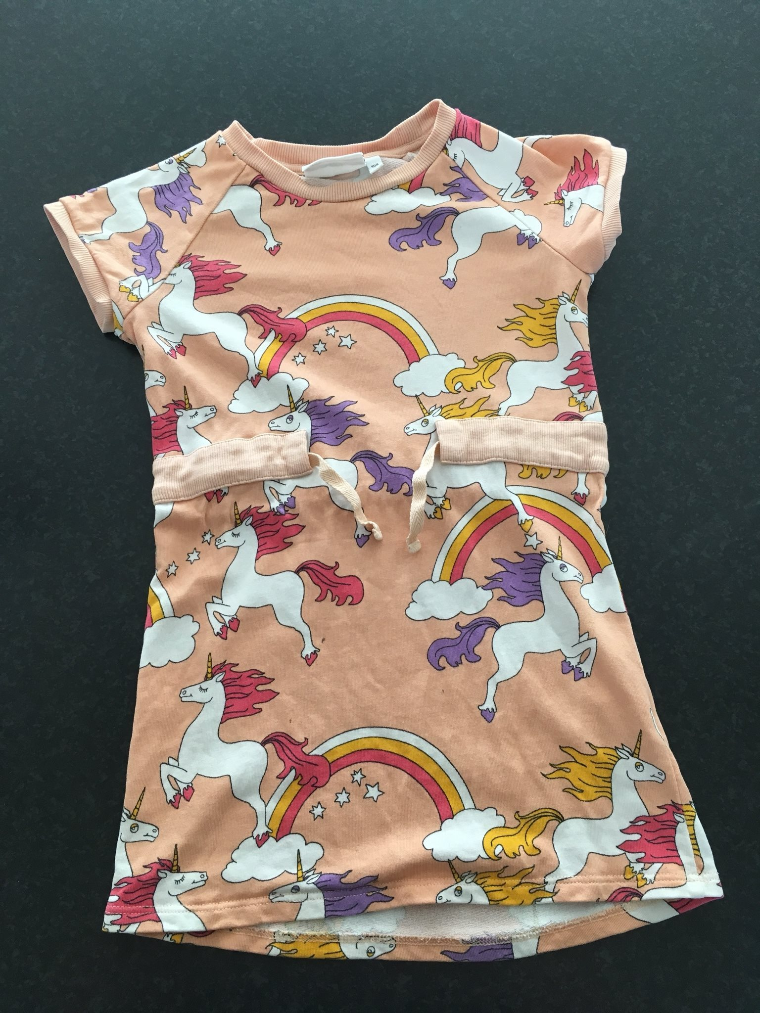 mini rodini unicorn klänning