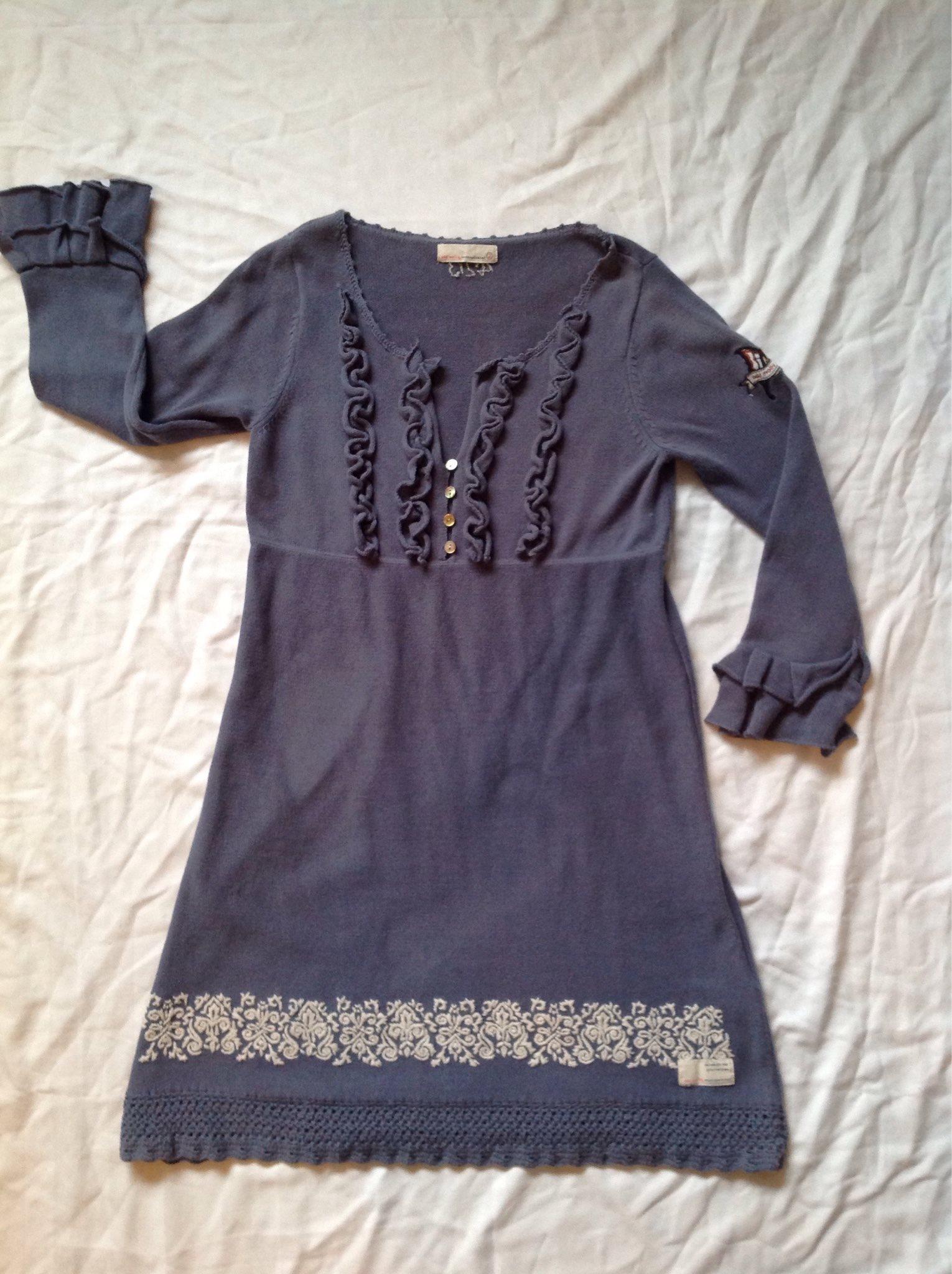 odd molly stickad klänning