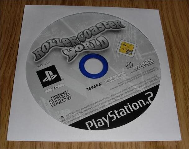 PS2: Rollercoaster World