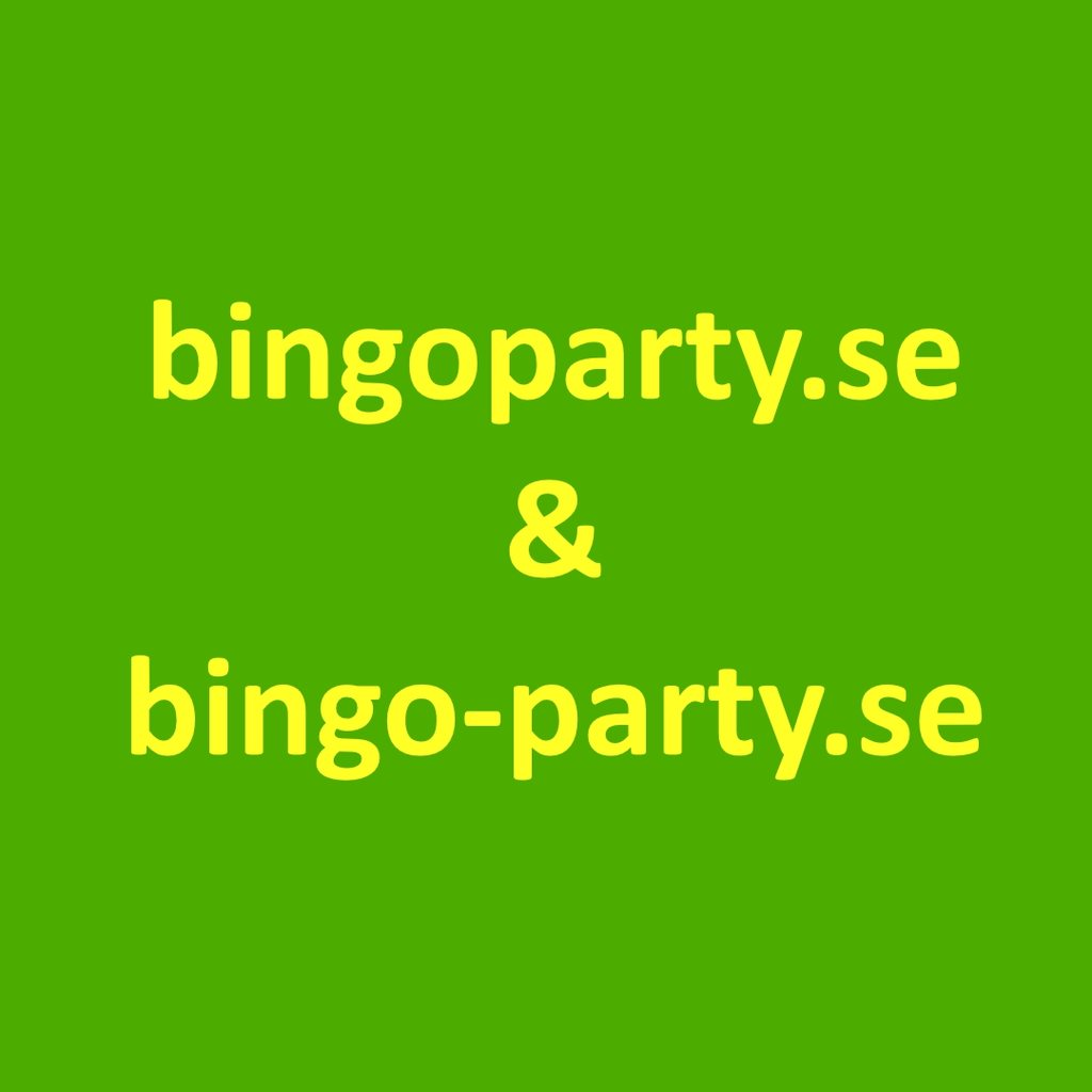 bingoparty.se och bingo-party.se