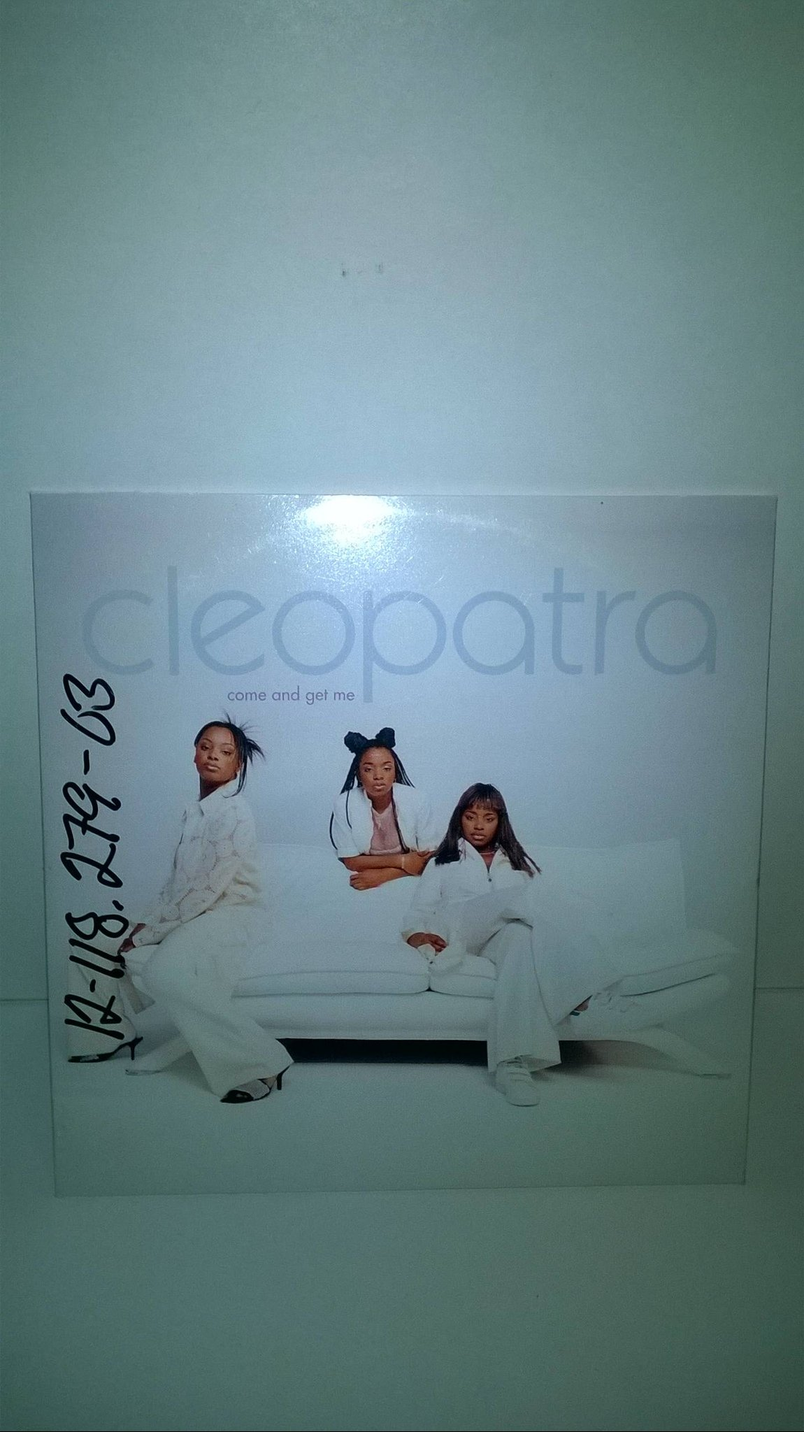 Cleopatra - Come And Get Me, single CD, promo