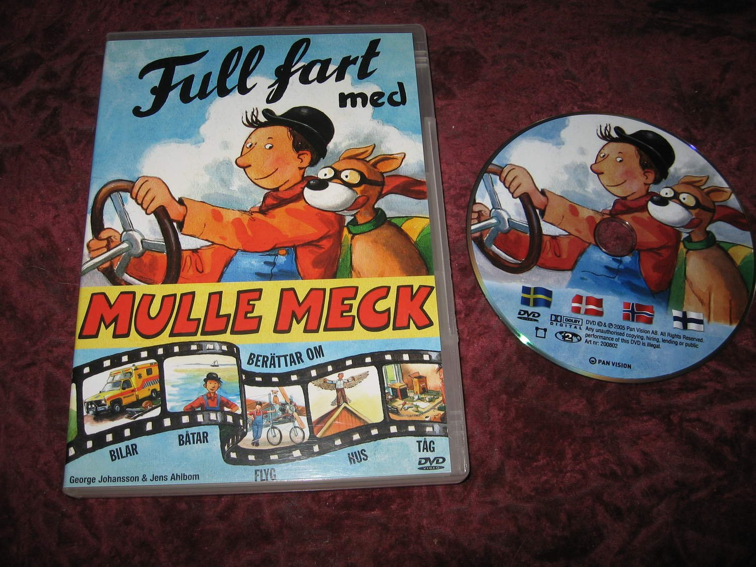 mulle meck dvd