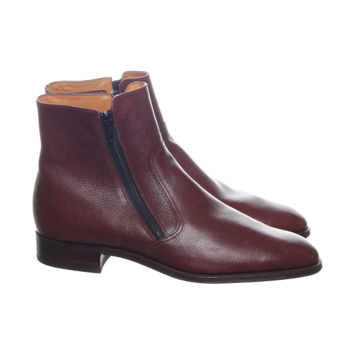 Loake, Boots, Strl: 42, Brun, Skinn