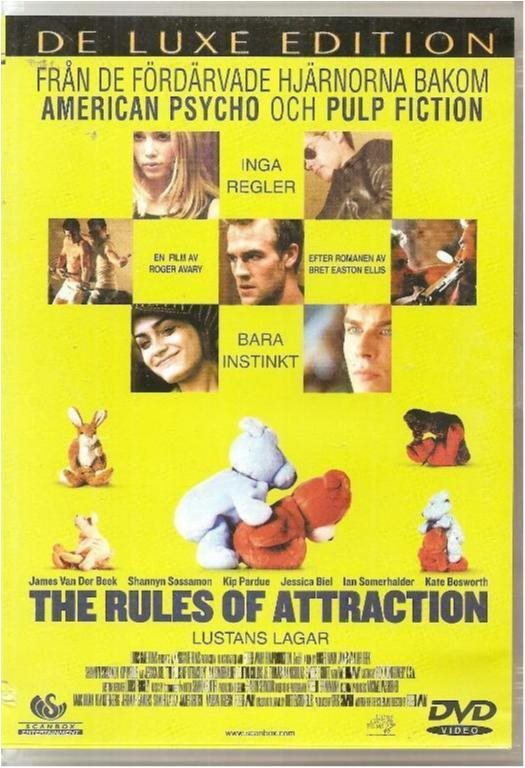 THE RULE OF ATTRACTION   (SVENSKT TEXT)