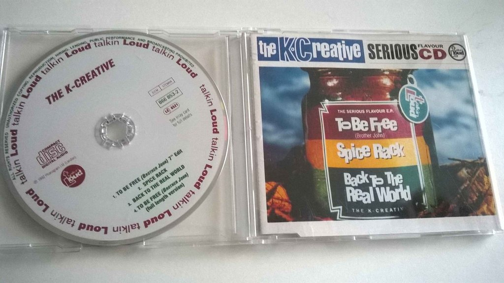 The K-Creative To Be Free (Brother John) Serious Flavour CD