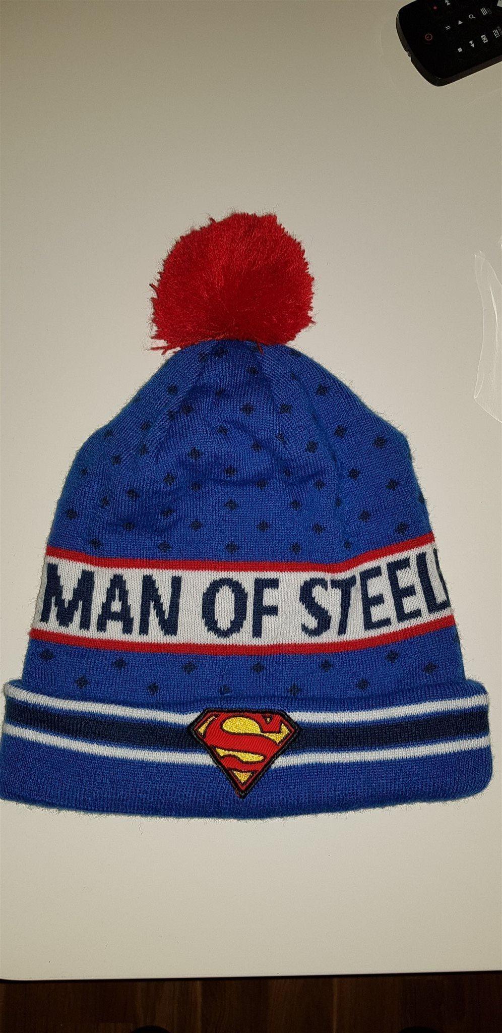 Jättefin Superman mössa (328888206) ᐈ Köp på Tradera 49e02d23a94bc