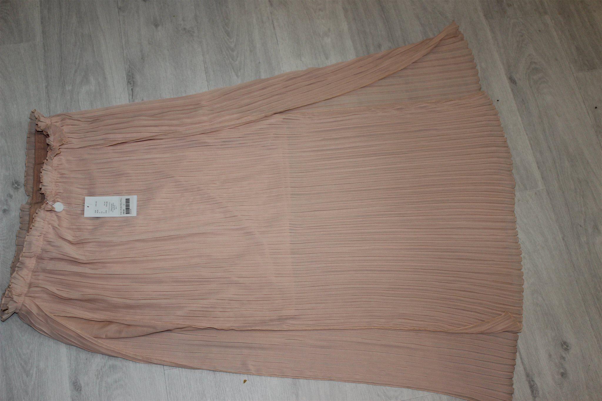 Jättesnygg rosa rosa rosa plisserad kjol från RUT & CIRCLE.  Stl L. Ny-nypris 399:- 470bf1