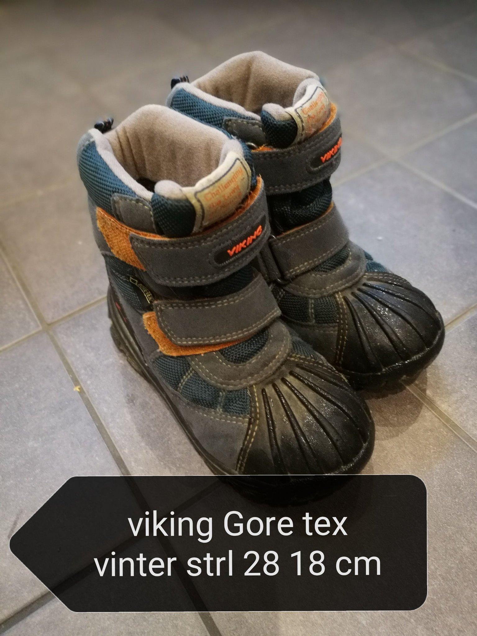 Viking Gore tex vinterstövlar prima skick
