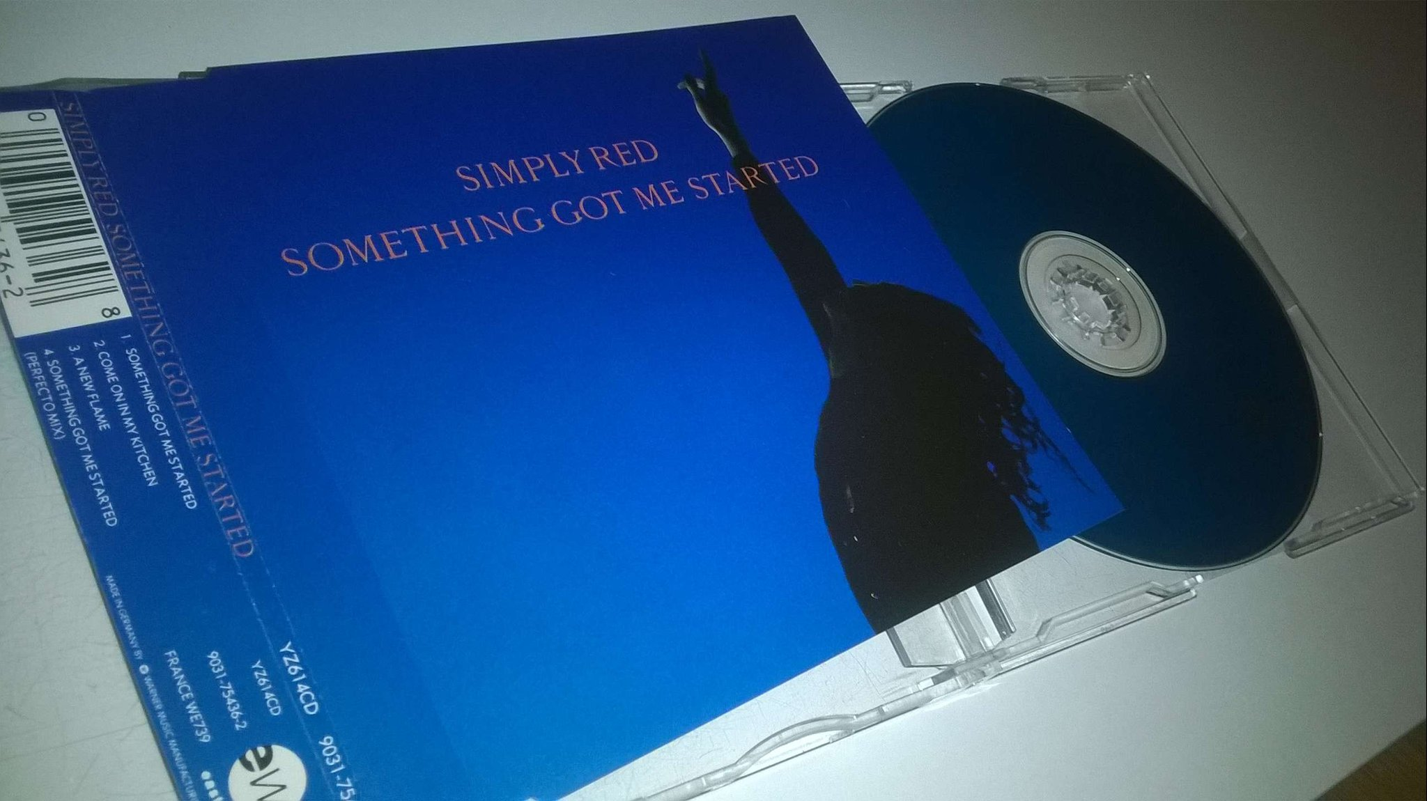 Simply Red ?- Something Got Me Started, CD, Maxi-Single