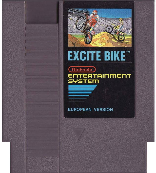 Excitebike - NES - Kassett