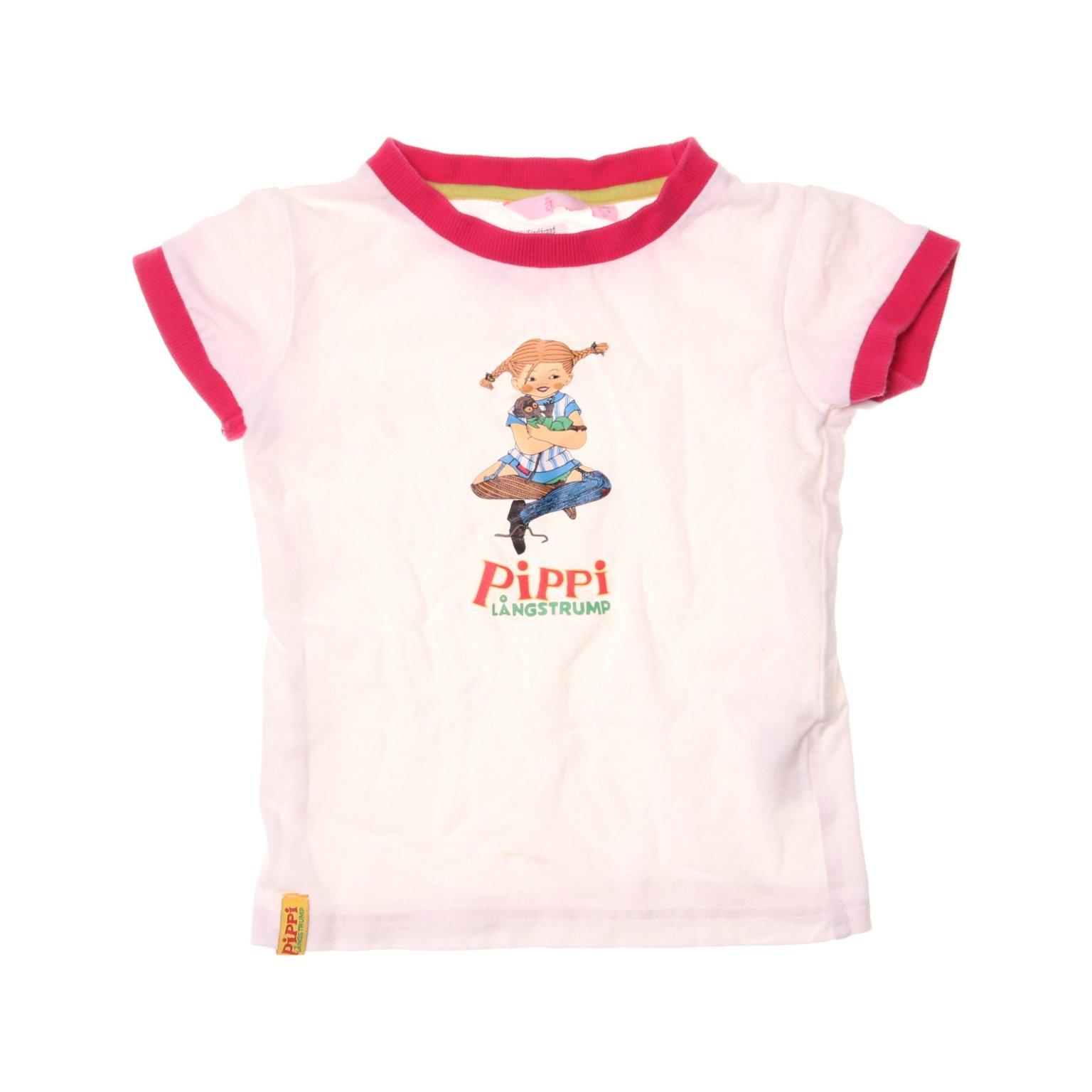 1357951db2aa Åhléns, T-shirt, Strl: 104, Pippi Långstr.. (353403019) ᐈ Sellpy på Tradera