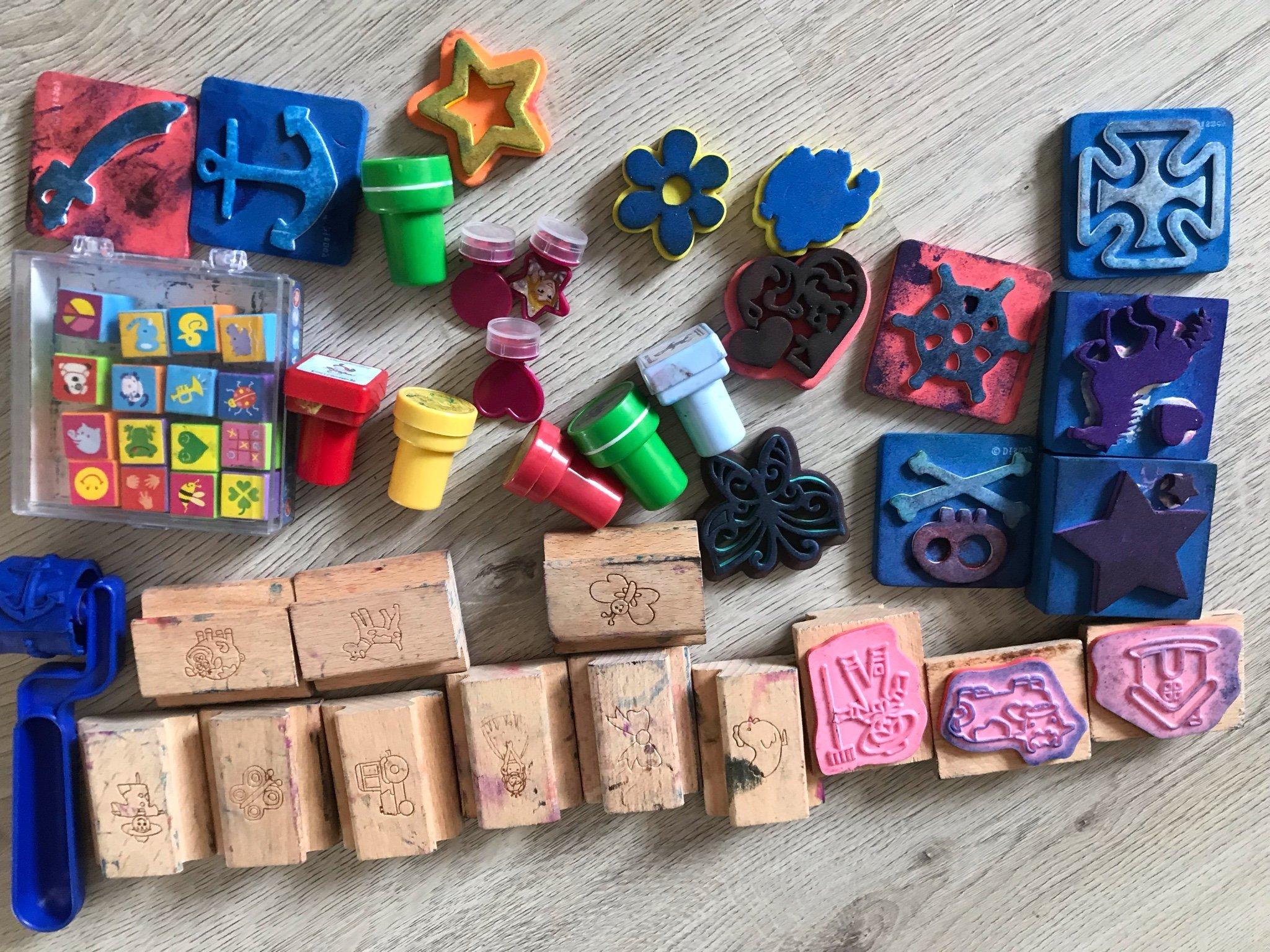Nykomna Stämpel stämplar paket barn scrapbooking barn (359946265) ᐈ Köp TD-58