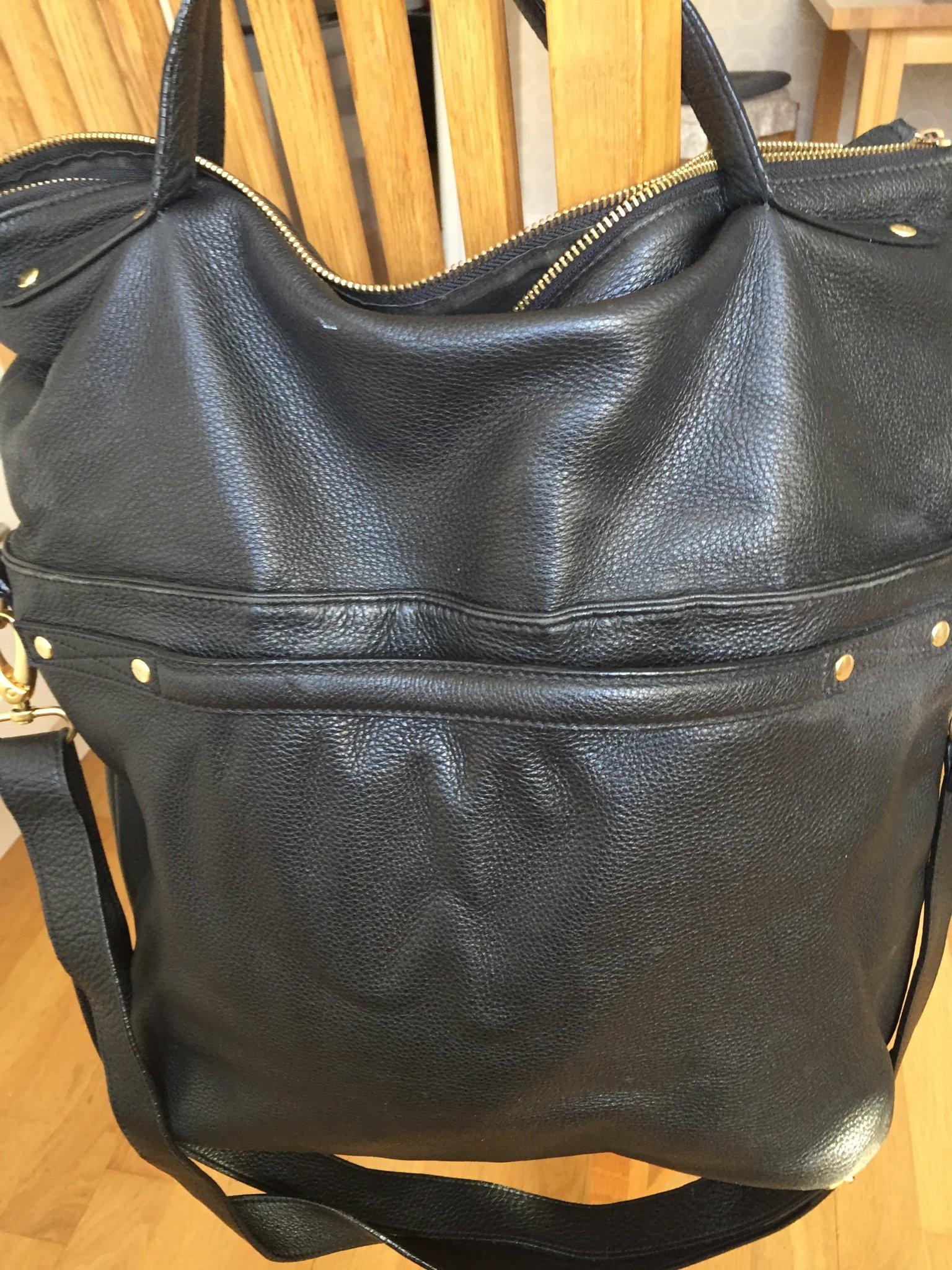 wera väska skinn