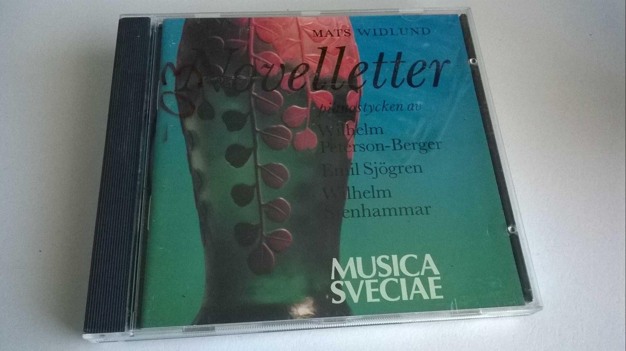 Mats Widlund - Novelletter, CD, Album