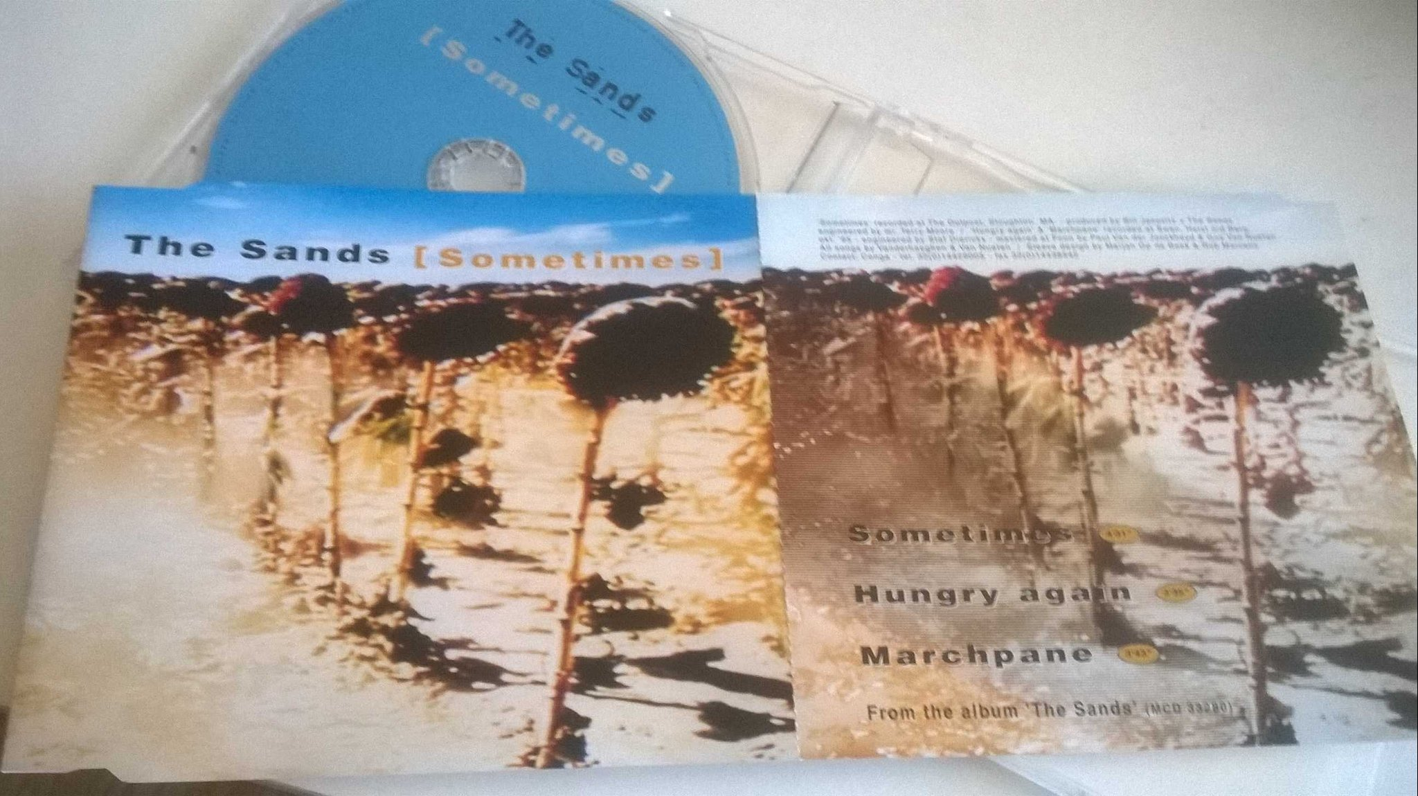 The Sands - Sometimes, CD, Single