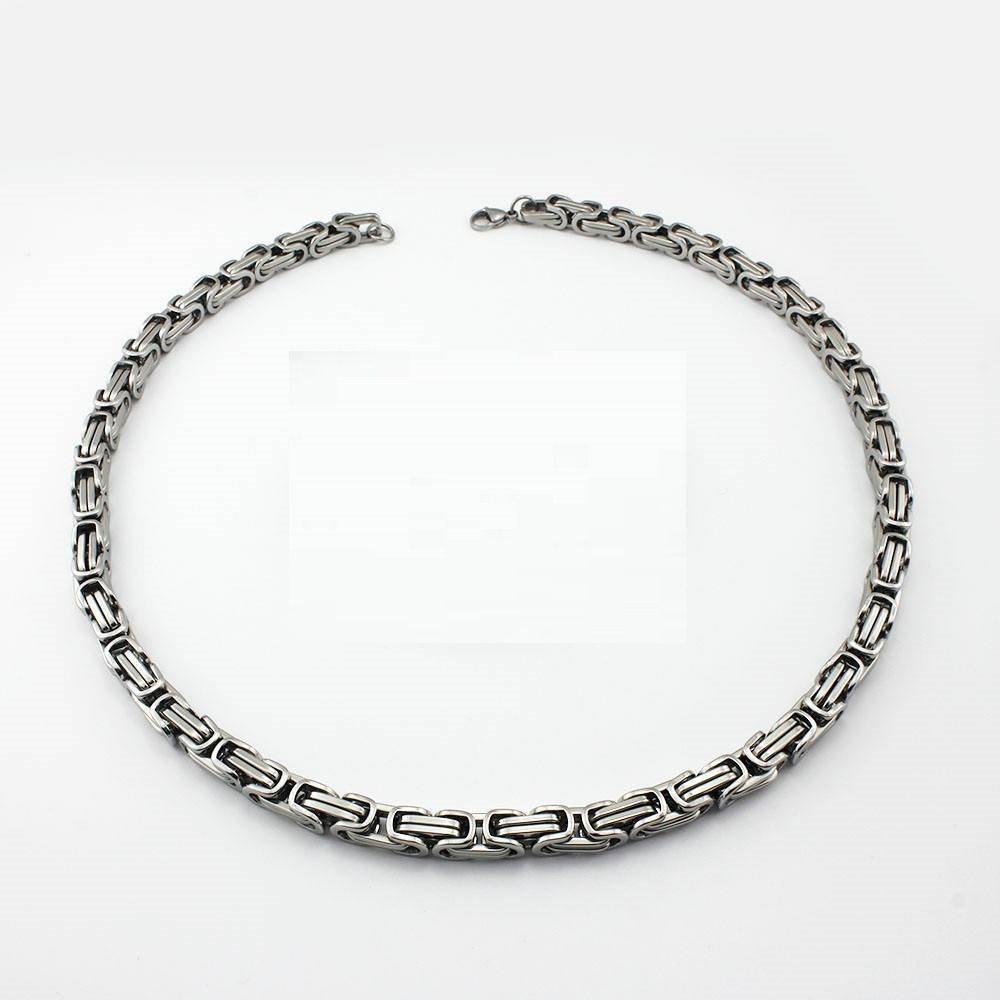 rostfritt stål halsband herr