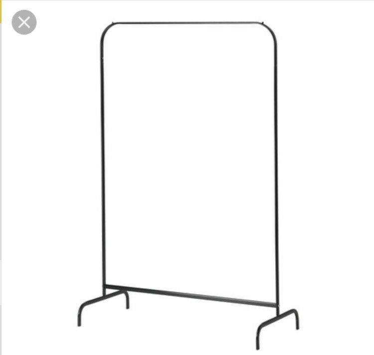 Klädställning, Mulig fr Ikea, svart på Tradera comÖvriga