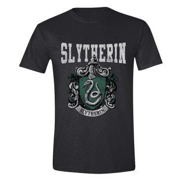 Harry Potter T-shirt Slytherin Mörkgrå XXL