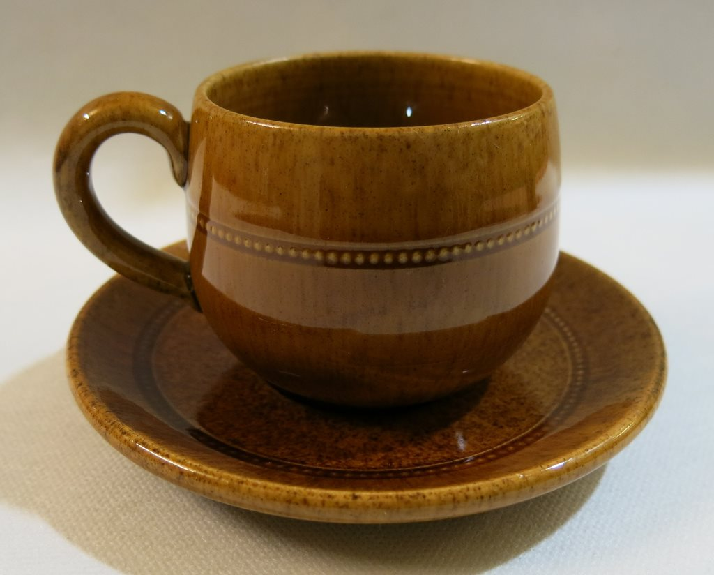 höganäs keramik Kaffekopp med fat Old Höganäs Keramik Sweden (298757501) ᐈ Köp på  höganäs keramik
