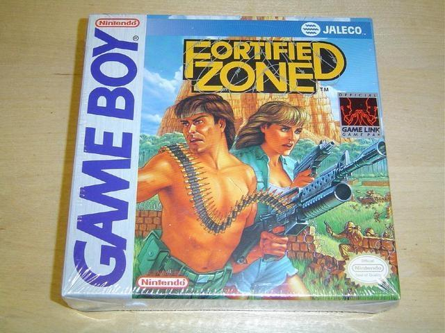 FORTIFIED ZONE NINTENDO GAMEBOY *NYTT*