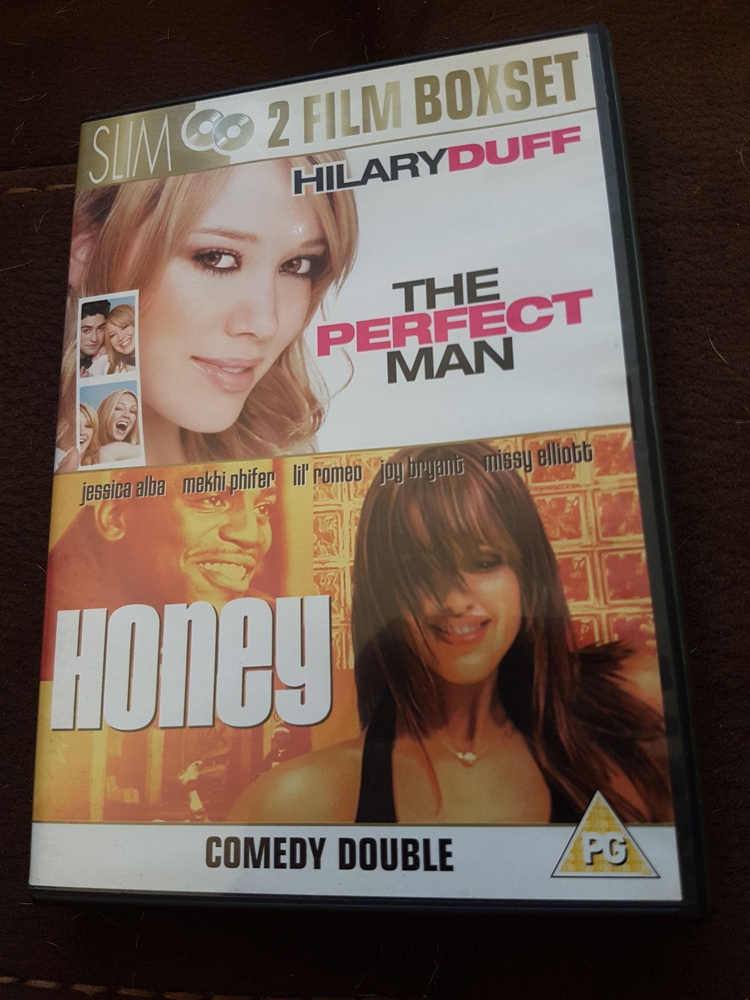 The Perfect Man / Honey - 2Film Boxset Dvd