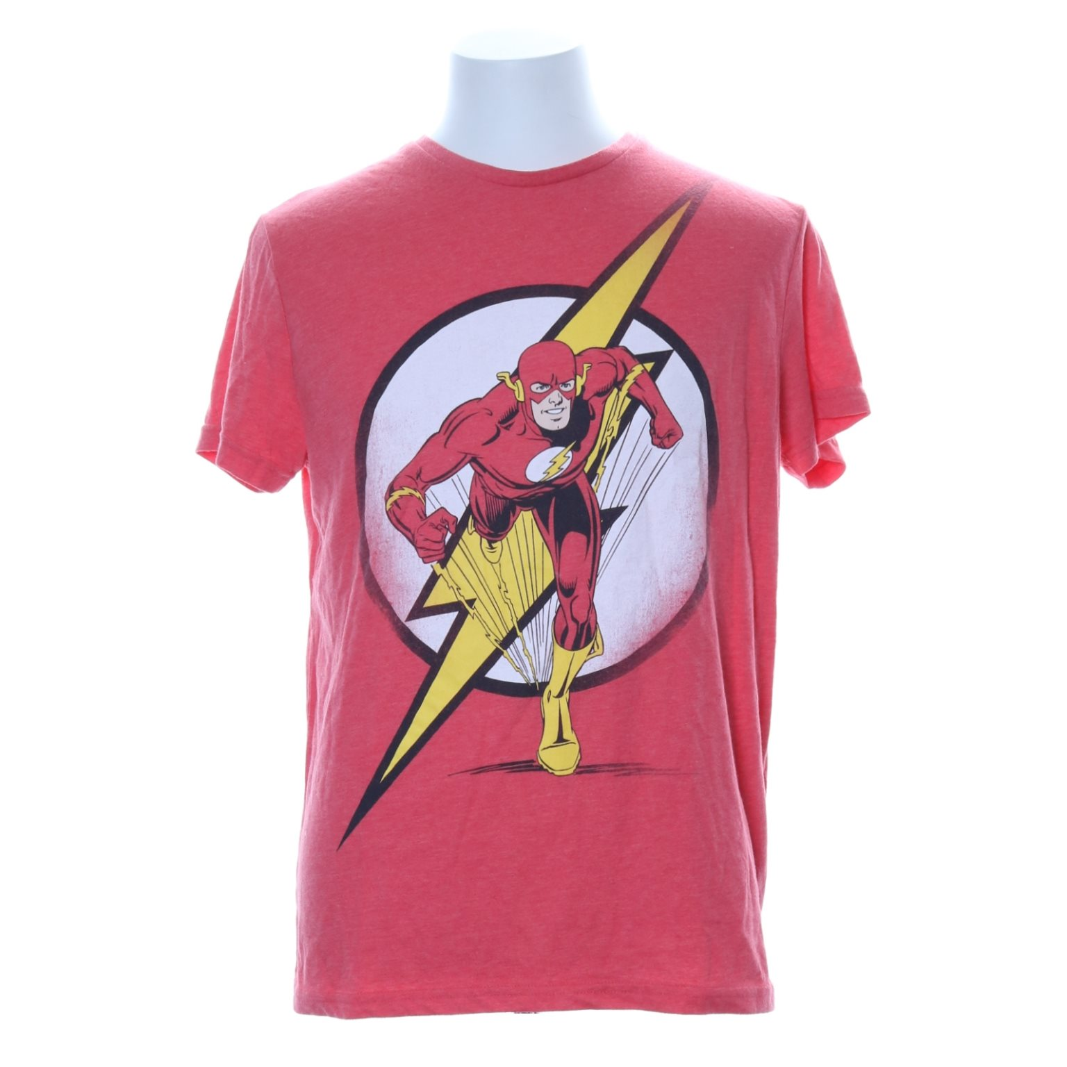 DC Comics, T-shirt, Strl: L, Rosa/Flerfärgad