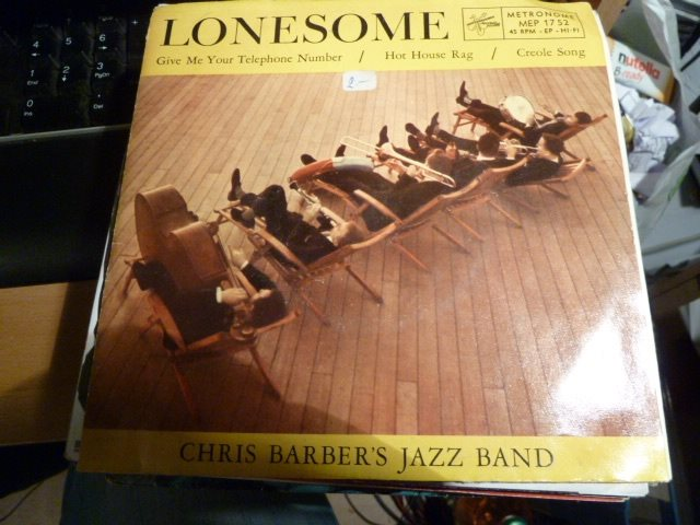 EP - Chris Barber´s Jazz Band - Lonesome