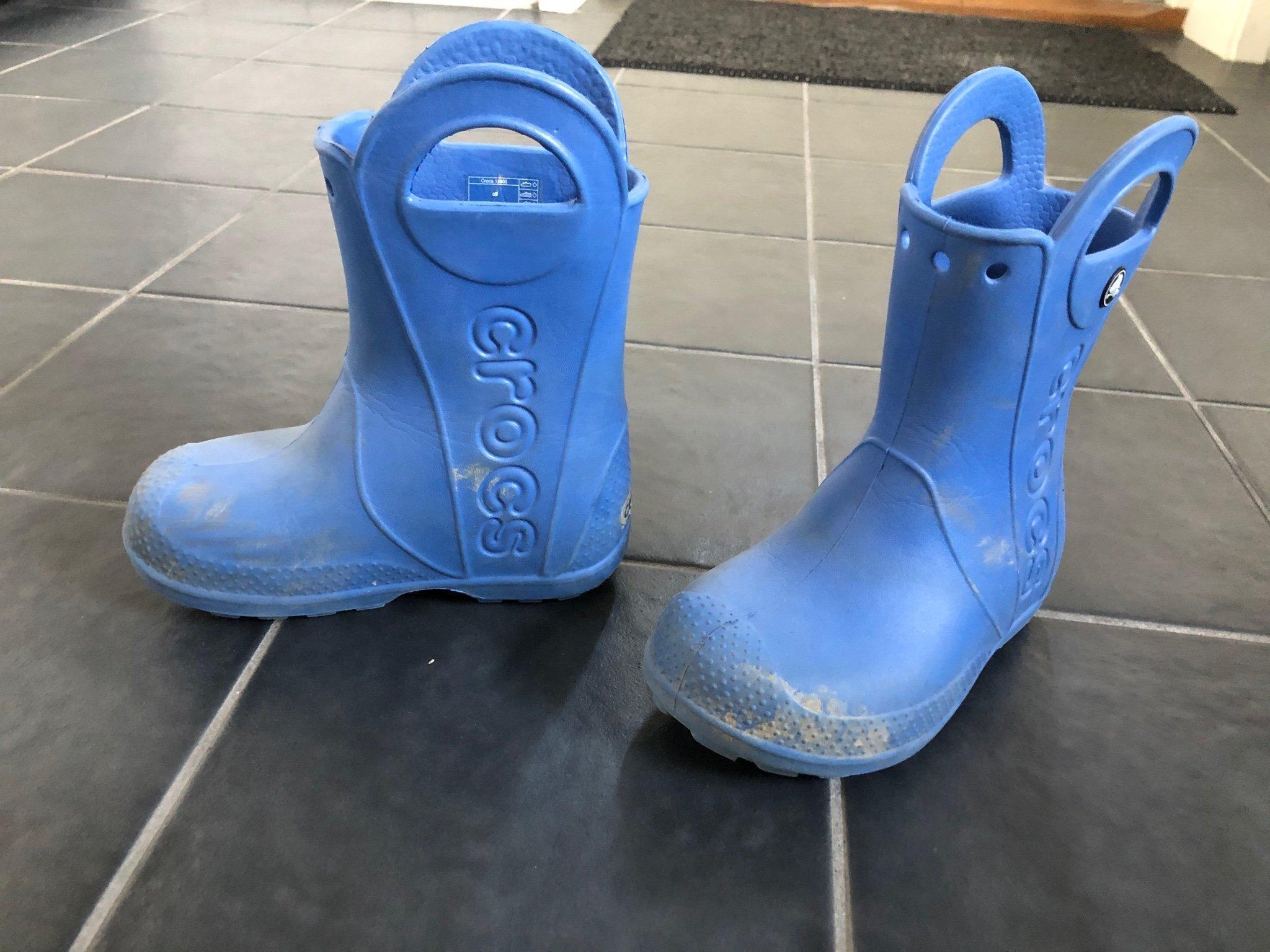 Crocs gummistövlar (398755917) ᐈ Köp på Tradera