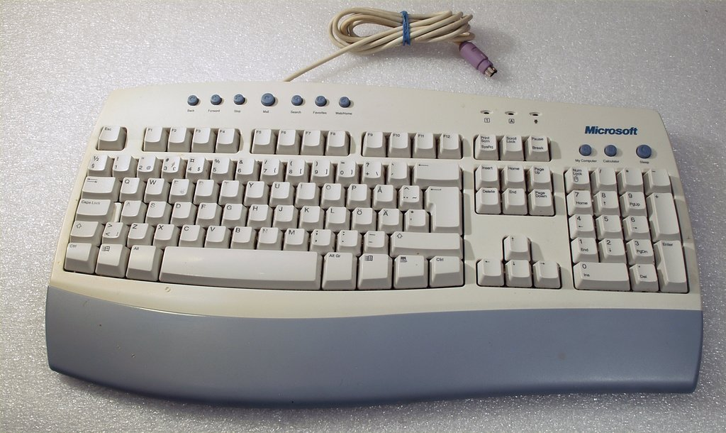 Microsoft Internet keyboard Fri Frakt!