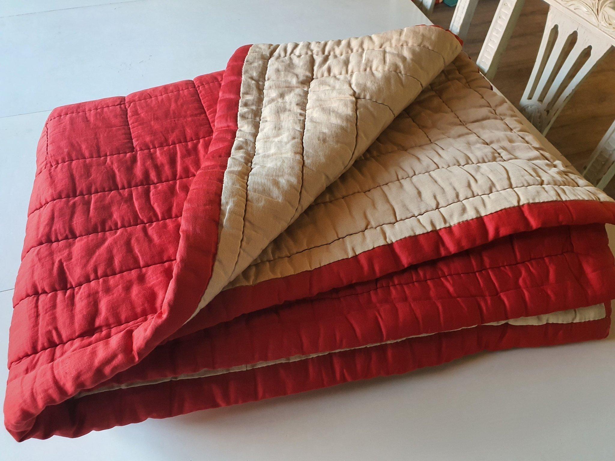 2st Retro sovsäcksovtäcke vaddtäcke täcke Värnamo Sängkläder AB