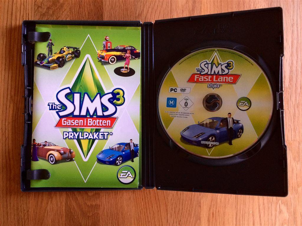 Sims 3, gasen i botten prylpaket. på tradera.com   simulatorer för ...