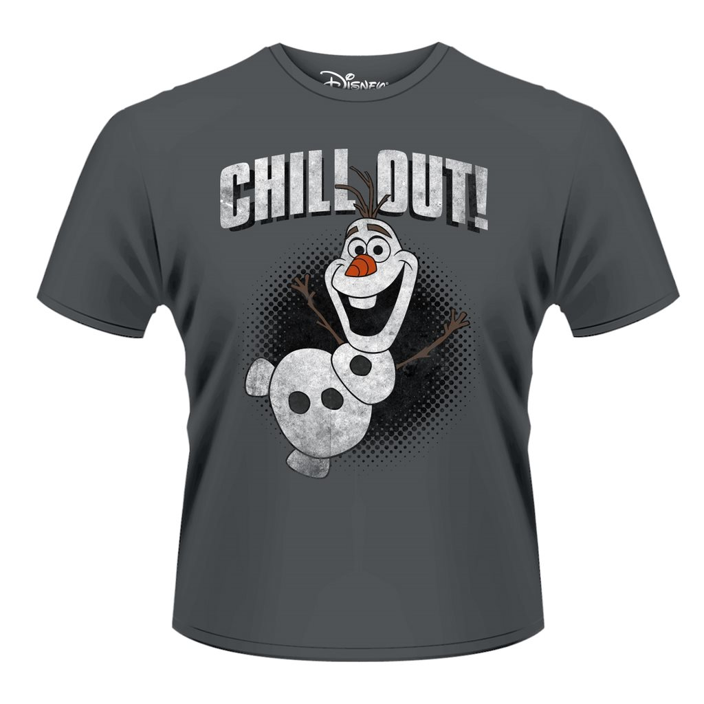 FROZEN- OLAF CHILL OUT T-Shirt - Small