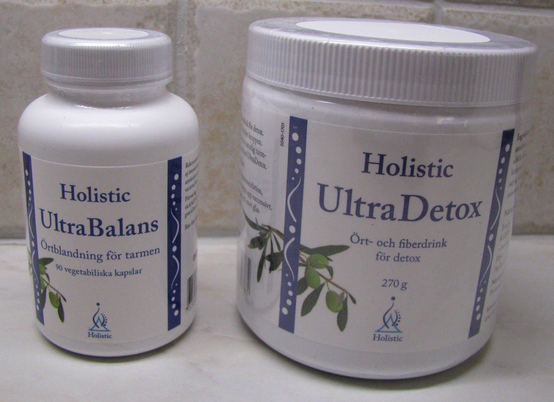 ultradetox och ultrabalans