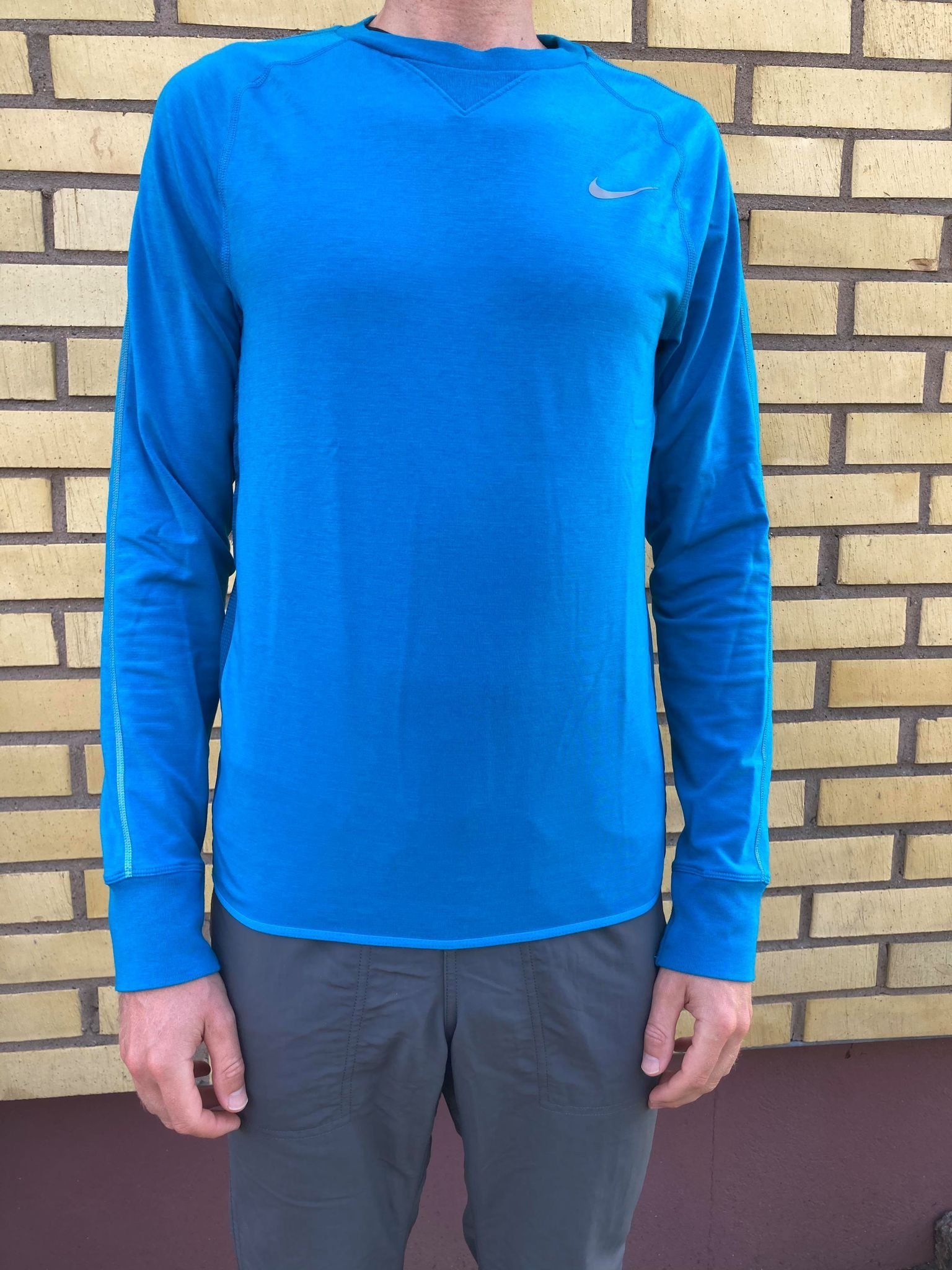 Nike Running DRI FIT tröja blå storlek S