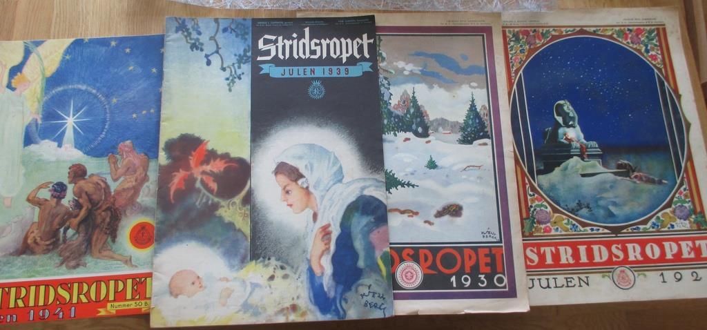 Jul, Gamla jultidnngar, jultidnngar, jultidnngar, Stridsropet Jul, 1929, 1930, 1939, 1941 f70c3f