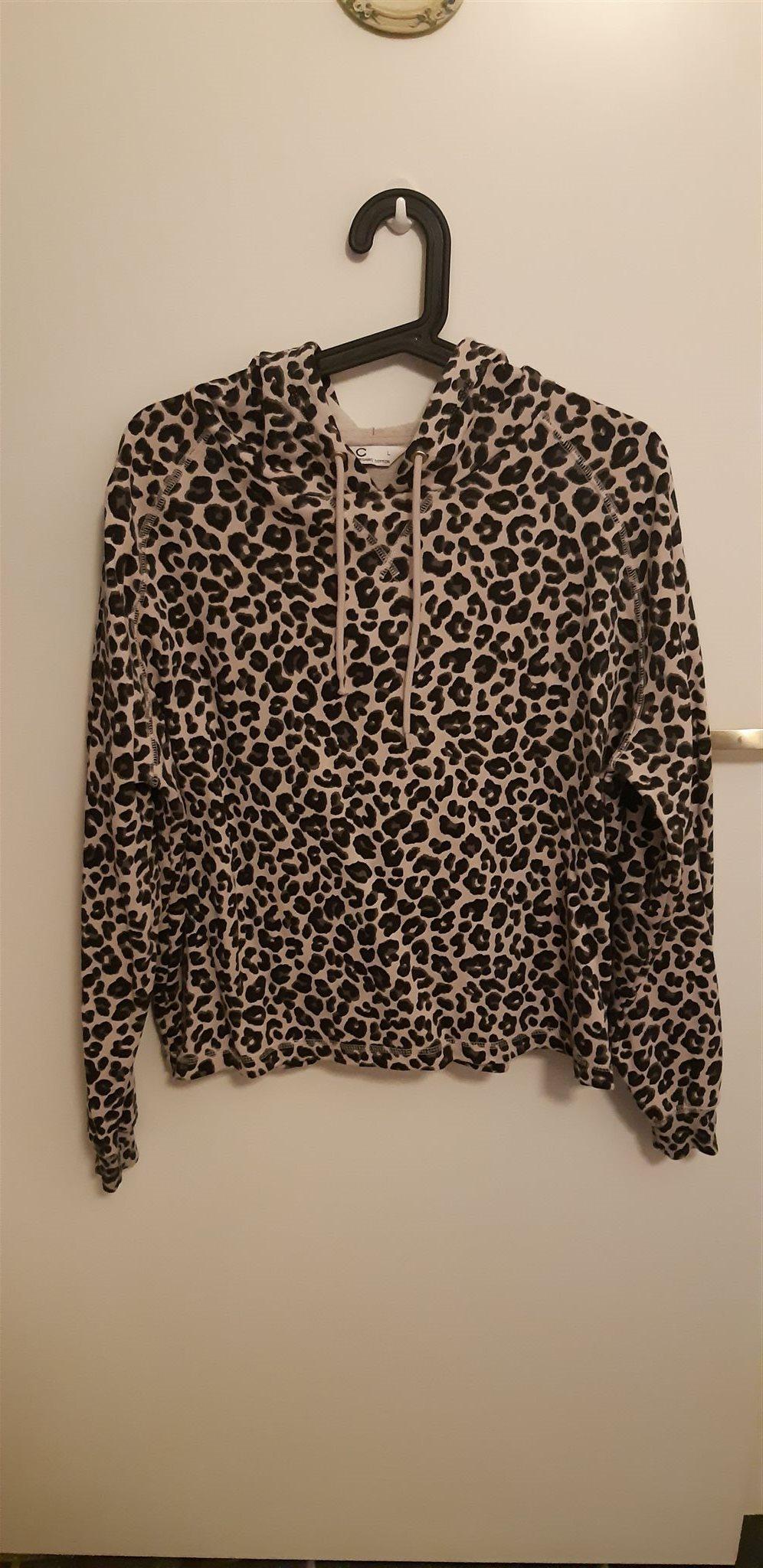 leopard tröja cubus