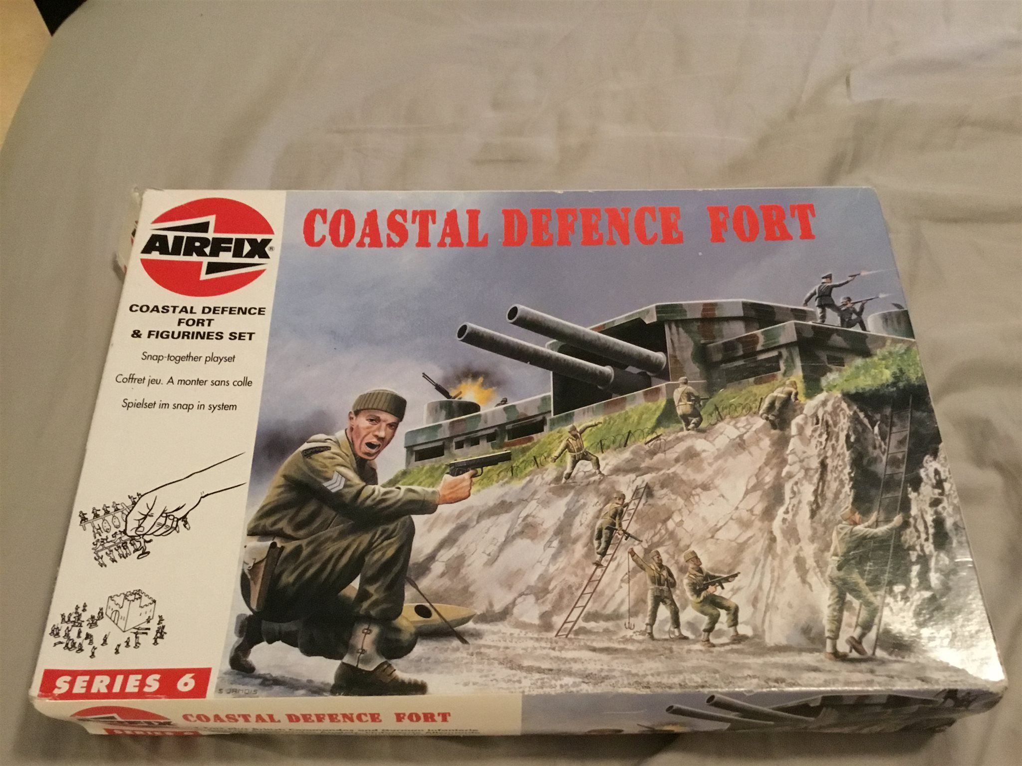 Airfix coastal defence fort
