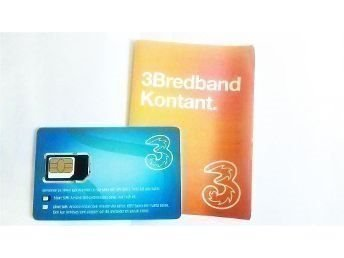 tre kontantkort bredband