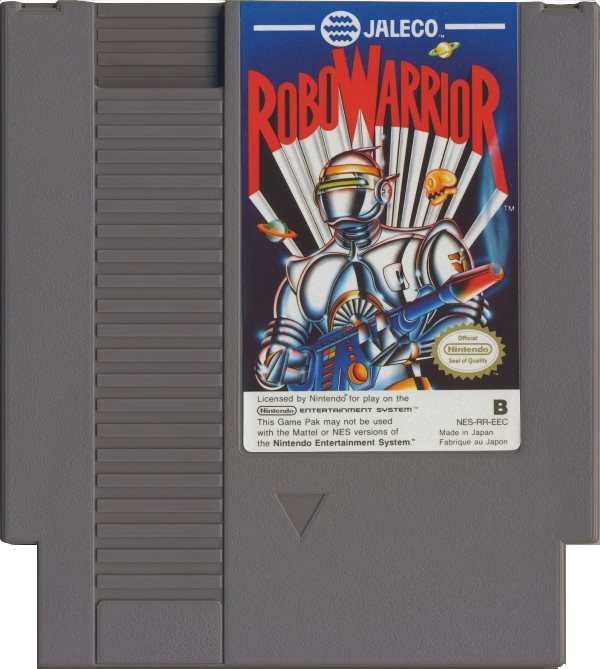 Robo Warrior - NES - Kassett