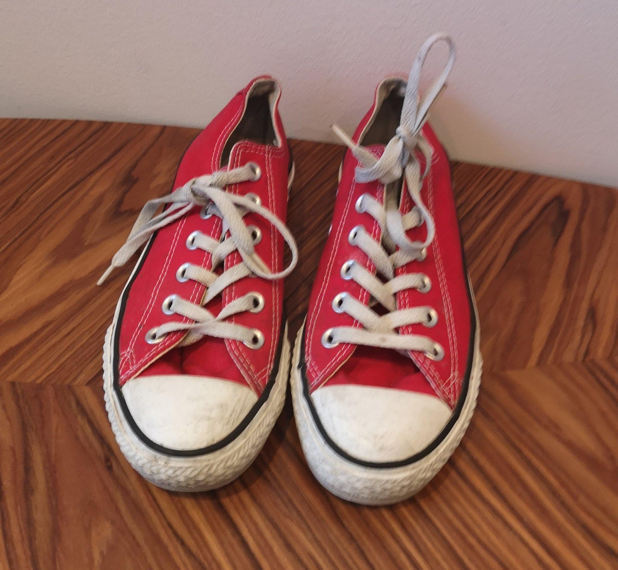48124696456 CONVERSE CHUCK TAYLOR ALL STAR Röda Sneakers / .. (353107587) ᐈ Köp ...