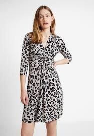 ILSE JACOBSEN klänning i leopard. Stl Large. Ny.. (408178612