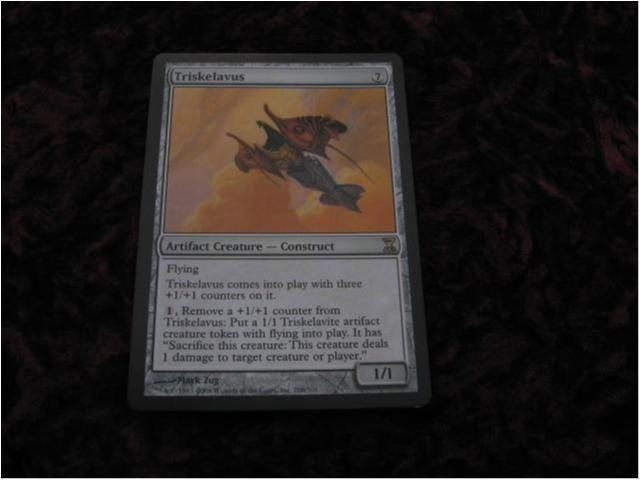 TRISKELAVUS RARE (ARTIFACT TIME SPIRAL) 1/1