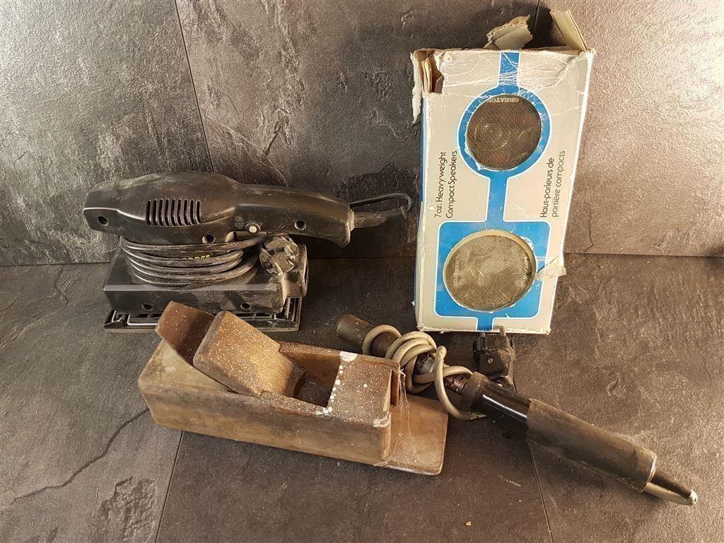 Inredning maskiner och verktyg : Gubbgodis verktyg maskiner paket på Tradera.com - Övriga